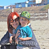 """Grandma Denise & Baby Vroom~  Taken 11-13-12<br /> """"Kings Harbor Church on the Beach"""""""