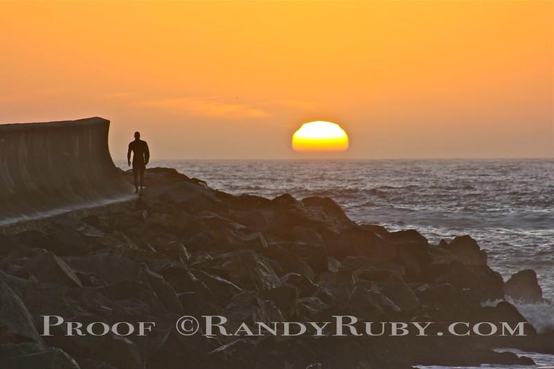 Endless Winter.~  Breakwater Redondo Beach, Ca.<br /> Taken: 1-6-2012