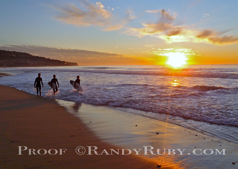 A Grom Sunset.~<br /> Taken: 11-29-11