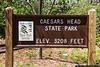 Caesars Head State Park, SC