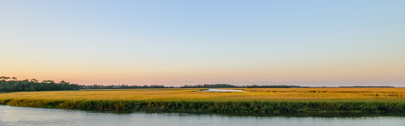 Kiawah River at sunset