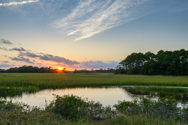 Sunset on Kiawah Island
