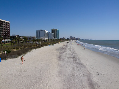 South Myrtle Beach, taken from Pier #2.  Looking North.