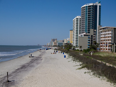 South Myrtle Beach, taken from Pier #2.  Looking South.