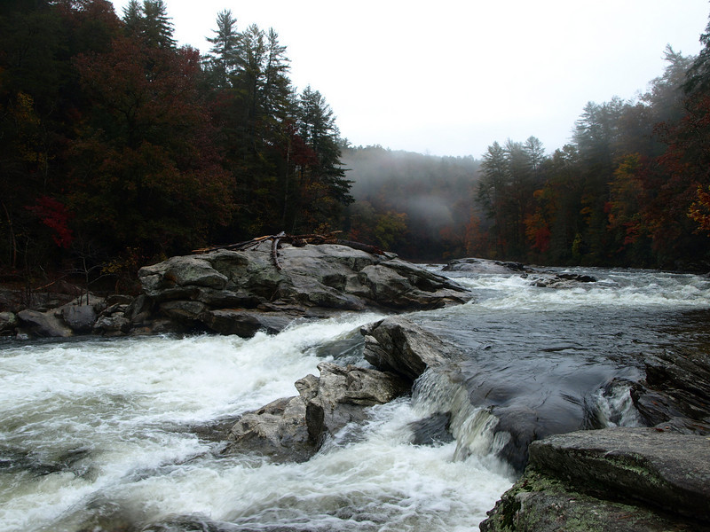 Bull Sluice Rapid<br /> Chattooga River