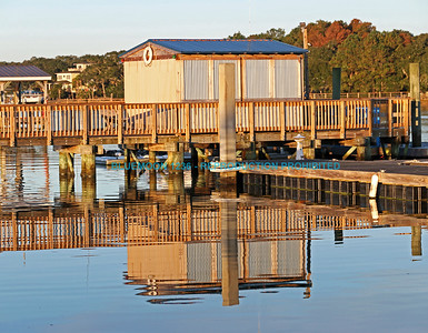 Mirrored Boat House