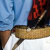 Gaucho with facón (dagger) tucked into belt, Montevideo, Uruguay