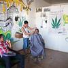 Barbershop, Cahuita, Costa Rica