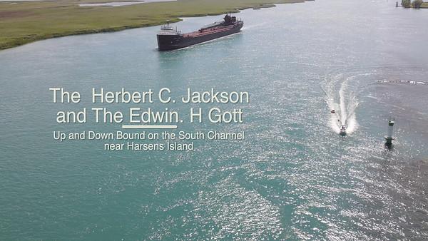 Herbert C Jackson and the Edwin H Gott