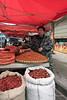 Hot peppers for sale, Rongjiang market, Guizhou Province, China