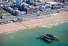 Brighton's Old Pier from the Air.