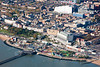 An aerial image of Southend on Sea