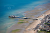 Aerial photo of Worthing Pier in West Sussex. If this is the photo you would like to purchase, click the BUY ME button for the prices and sizes of prints and digital downloads.