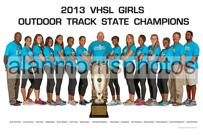 2013 Girls Oudoor Track State Champions