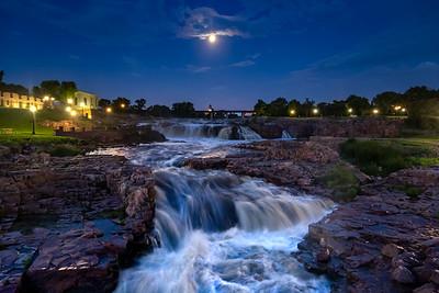 Moonlit Falls