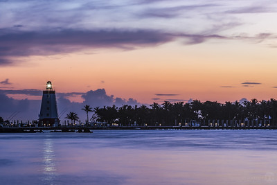 Small lighthouse in the Florida Keys