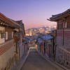 Bukchon Hanok at Night