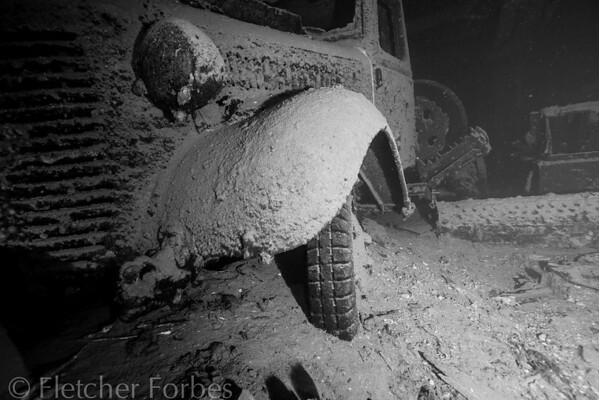 Car in Hold C of Hoki Maru