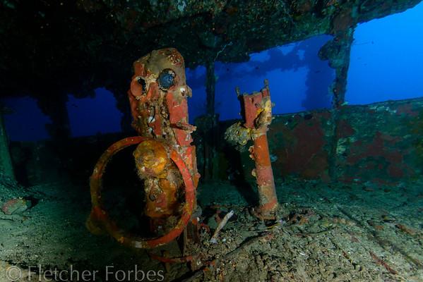 helm telegraph and speaking tube, Nippo Maru