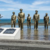 Memorial to US Army forces in WW II. (MacArthur's return to the Philippines, landing in the Leyte Gulf).