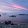 Sogod Bay at sunset