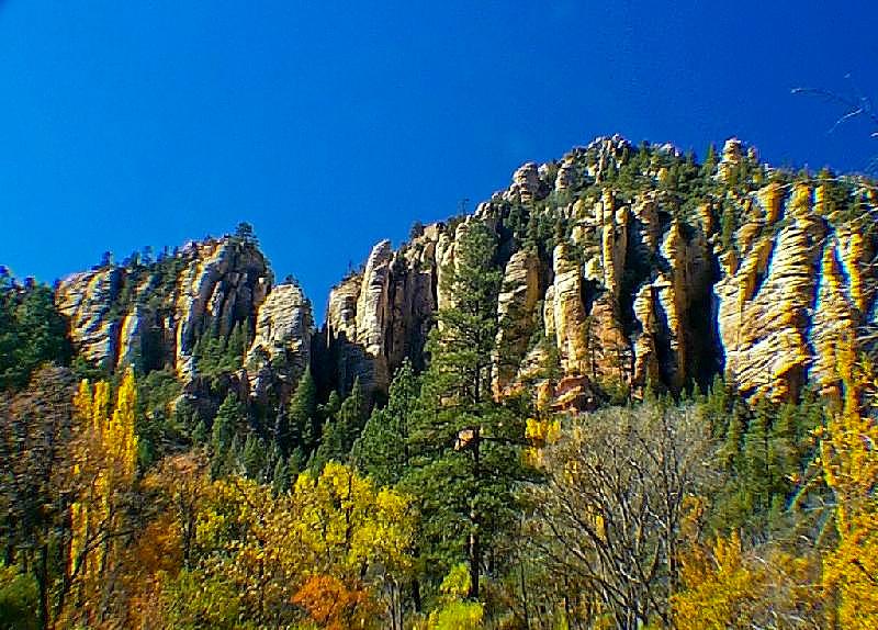Autumn in Oak Creek Canyon