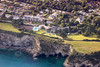 Aerial photo of The Carlyon Bay Hotel.