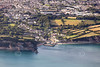 Aerial photo of Charlestown Harbour.