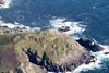 Aerial photo of Cape Cornwall.