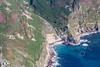 Aerial photo of Priests Cove.