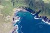 Aerial photo of Porthmeor Cove.