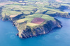 Aerial photo of Nare Head.