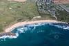 Aerial photo of Constantine Bay.