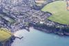 Aerial photo of Gorran Haven.