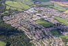 Aerial photo of Helston.