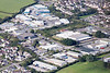 Aerial photo of Water Ma Trout Industrial Estate in Helston.
