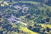 Aerial photo of Lanhydrock.