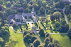 Aerial photo of Lanhydrock.