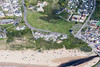 Aerial photo of Mawgan Porth.