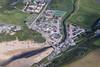 Aerial photo of Mawgan Porth.