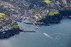 Aerial photo of Mevagissey.