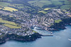 Aerial photo of Mevagissey-2