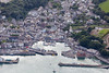 Aerial photo of Padstow.