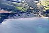 Aerial photo of Polstreath Beach-1