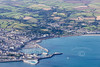 Aerial photo of Penzance.