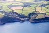 Aerial photo of Portloe.