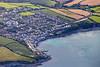 Aerial photo of Portscatho.