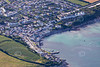 Aerial photo of Portscatho.