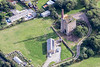 Aerial photo of North Treskerby Mine..