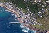 Aerial photo of Sennen Cove.